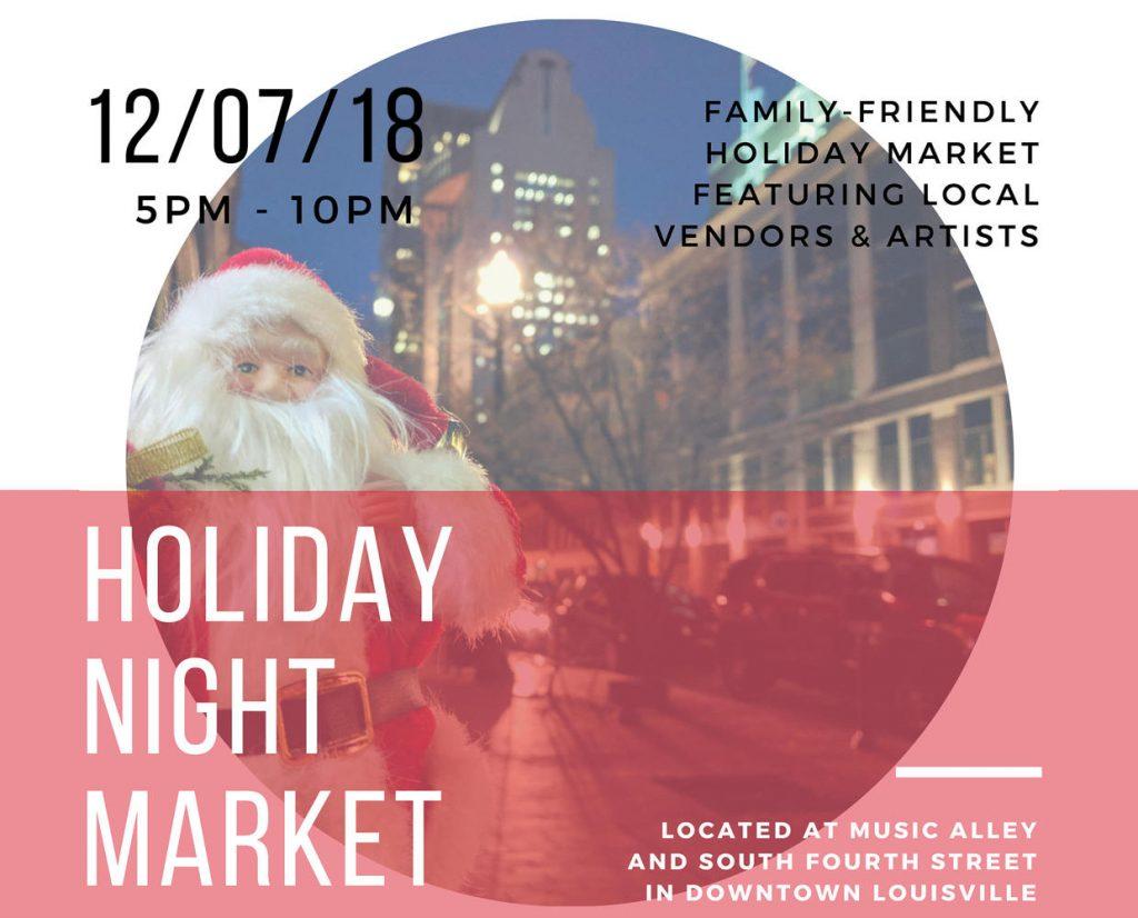 December 7: Holiday Night Market image